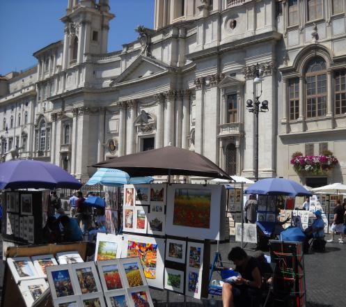 Piazza Navona foto D.Bajani
